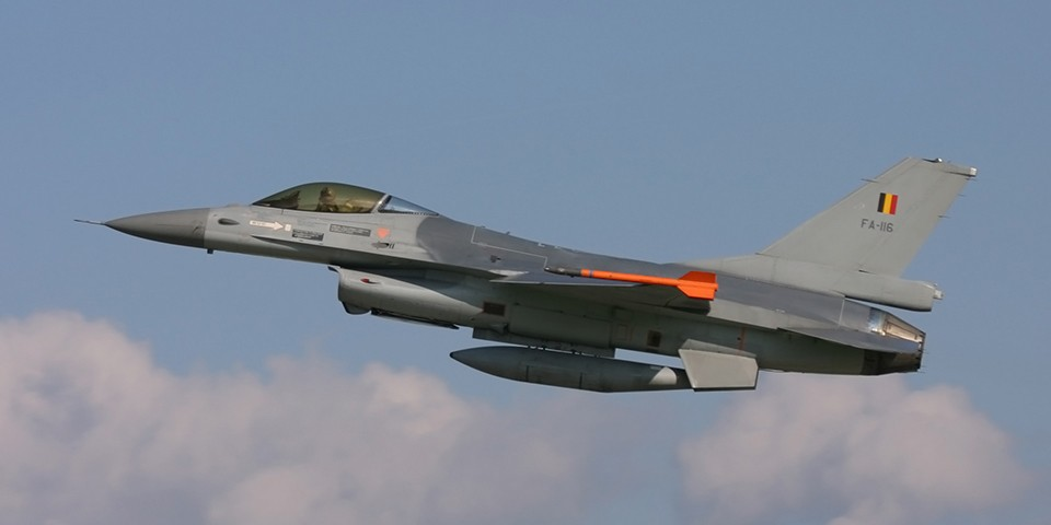 F-16 Fighting Falcons in Payerne