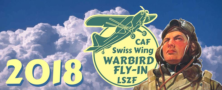 CAF Swiss Wing Warbird Fly-In Birrfeld 2018